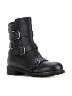 Jimmy Choo Black Dawson Boots