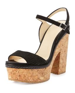 Jimmy Choo Cork Sandals