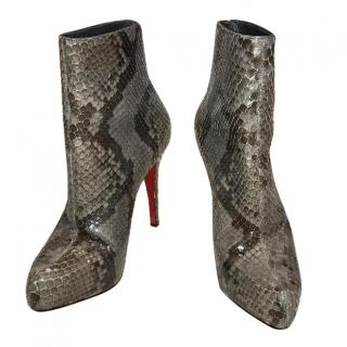 Christian Louboutin Snakeskin Ankle boots