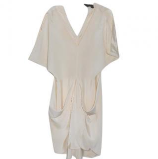 Maria Cornejo cream silk dress
