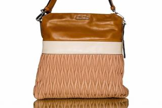Miu Miu Vitello Matelas handbag in Brown