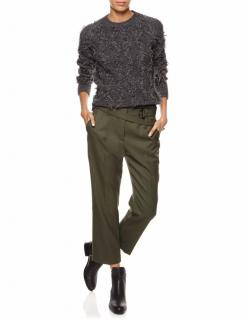 3.1 Phillip Lim Wool Tapered Cropped Trousers