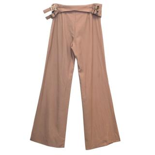 Chloe Camel Long Trousers