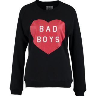 Zoe Karssen 'Bad Boys' Black Sweatshirt
