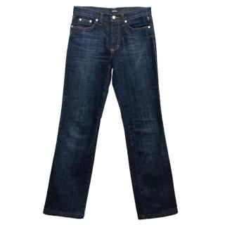 Versace Jeans Couture Dark Blue Straight Leg Jeans