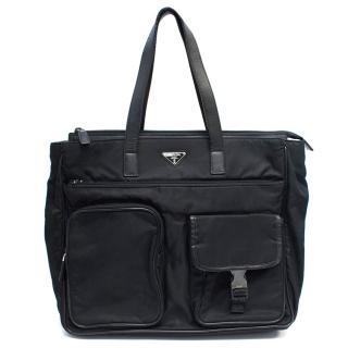 Prada Men's Nylon Briefcase