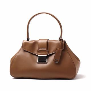 Miu Miu Pattina Montana Calf Leather in Brown