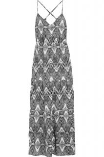 Melissa Odabash Avalone printed voile coverup