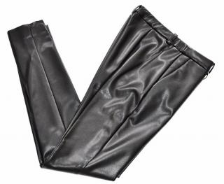 Viktor & Rolf faux leather skinny trousers