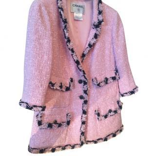 Chanel Boucle pink jacket