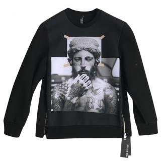 Neil Barrett Tattooed Sculpture men's sweatshirt