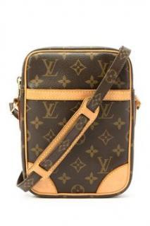 Louis Vuitton Shoulder Bag Danube Brown Monogram 10287