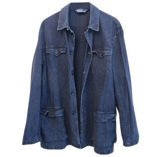 Ralph Lauren Polo denim safari jacket