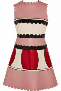 Red Valentino Pink Scalloped Dress