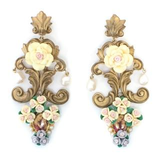 Dolce & Gabbana Clip on Drop Earrings