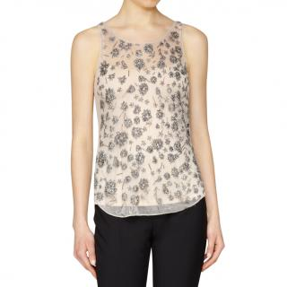 Theyskens Theory Embroidered Tank Top ~NEW