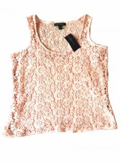 Ralph Lauren Pink Lace Top