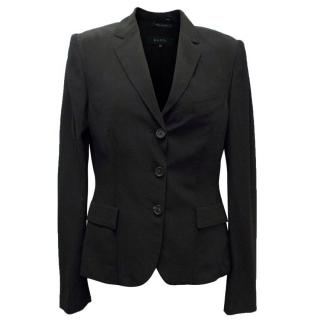 Gucci Black Relaxed Fit Blazer