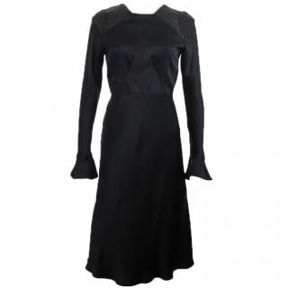 Octavio Pizarro black dress