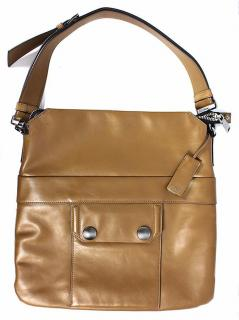 Miu Miu Calf Leather Handbag in Brown Colour