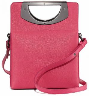 Christian Louboutin Mini Passage Leather Cross body Bag in Pink