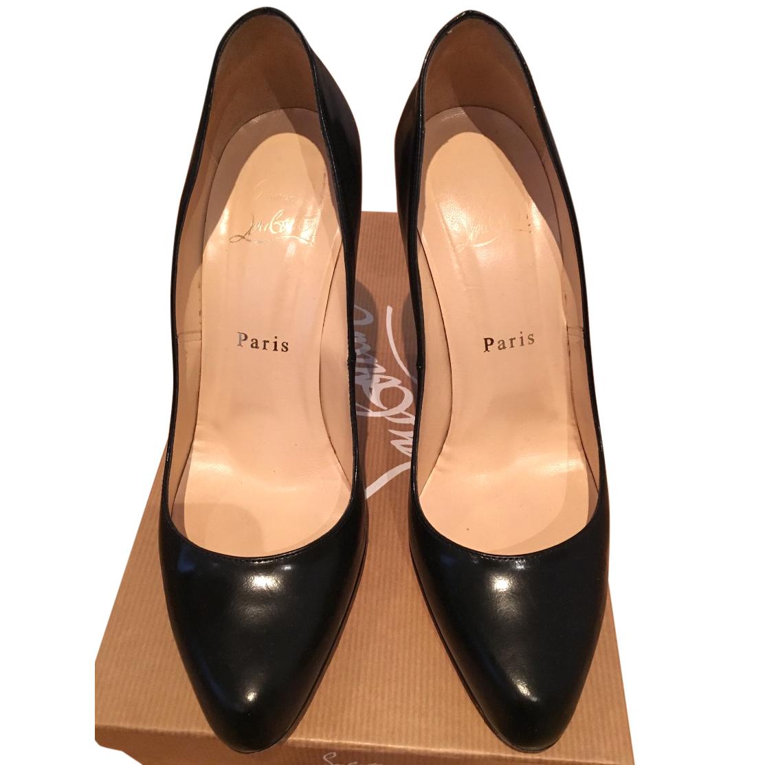 promo code 4038a 9d1bd Christian Louboutin Black Heels