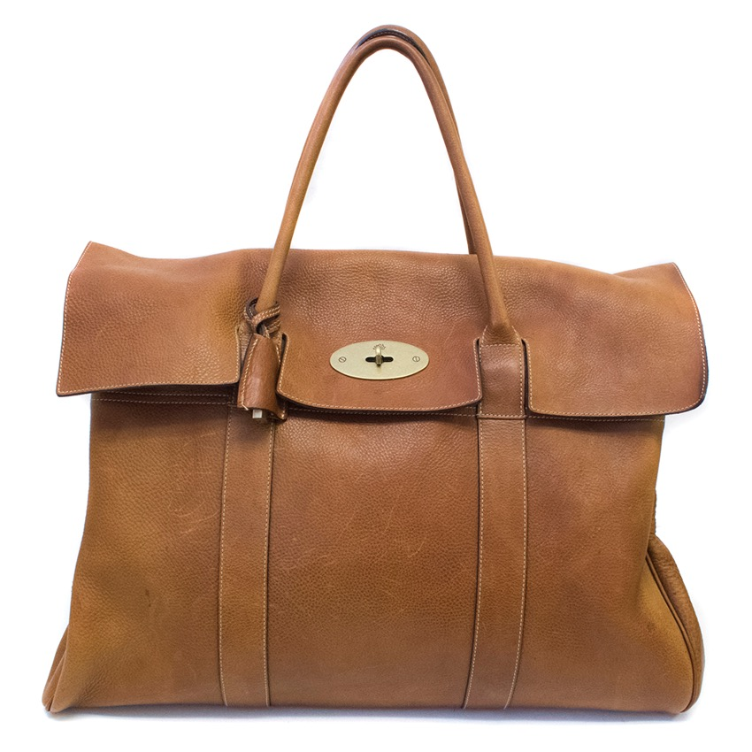 Mulberry Tan Large Piccadilly Tote