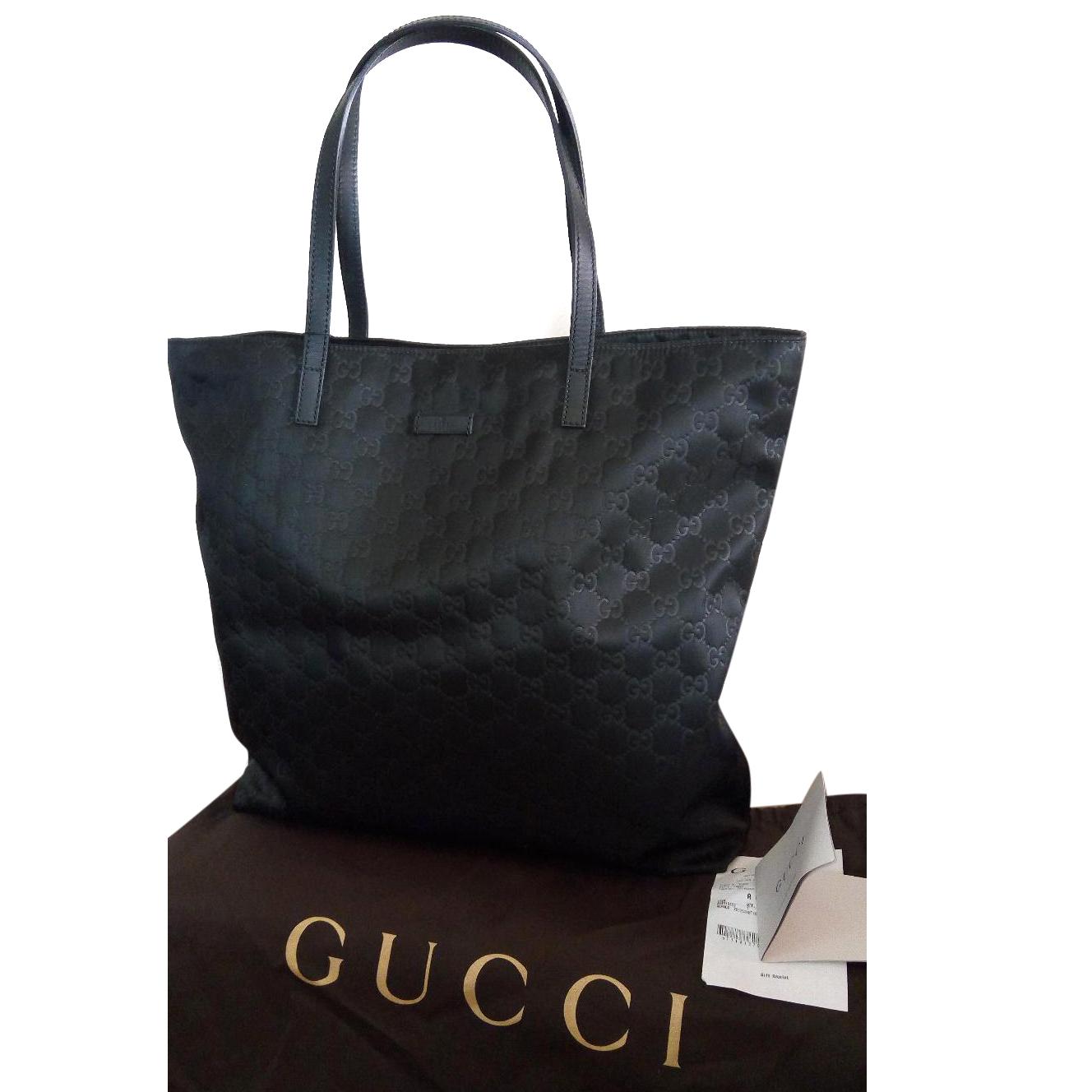 3c33900eaf89fa Gucci Nylon Gg Guccissima Xl Tote Bag101682   HEWI London