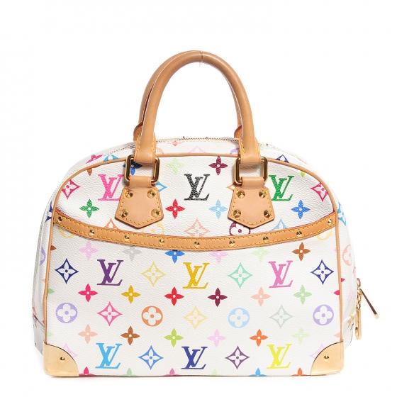 Louis Vuitton Multicolored White Trouville