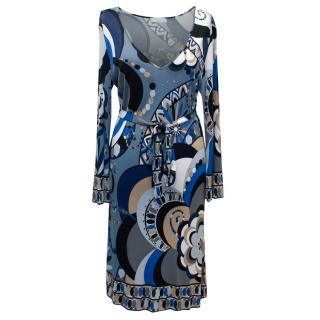 Emilio Pucci Printed Multicolour Dress