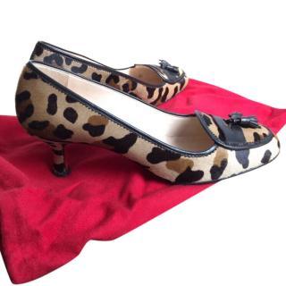 Christian Louboutin Leopard Print Heels