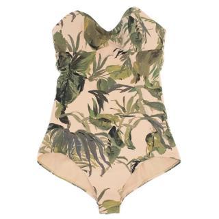 Tomas Maier Tropical Print Bathing Suit