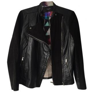 Paul Smith Leather & Suede Jacket