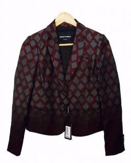 New Emporio Armani Patterned jacket