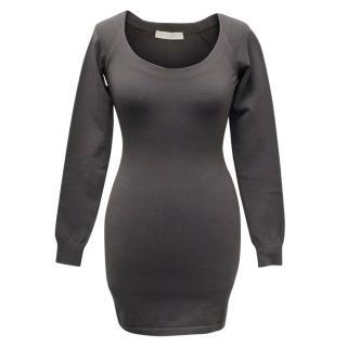 Stella McCartney Light Grey Knit Dress