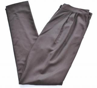 Fendi fluid silk trousers