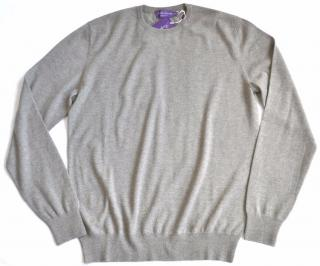 Ralph Lauren Purple Label grey cashmere jumper