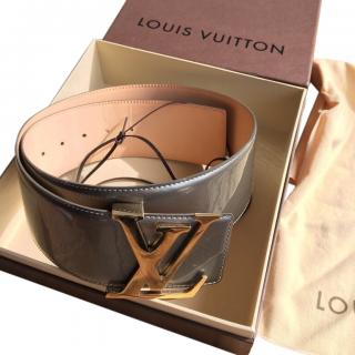 Louis Vuitton Limited Edition Thick Monogram Belt