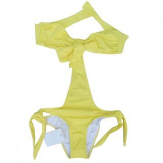 Ondade Mar Yellow swimwear