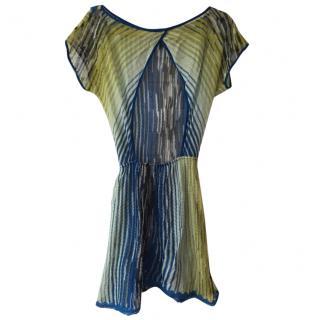 Missoni Mare Blue Green Beach Dress