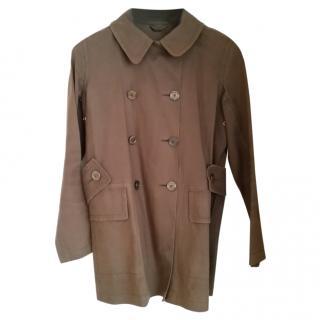 Louis Vuitton Brown Coat