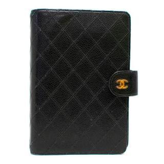 Chanel Black Leather Mini Organiser