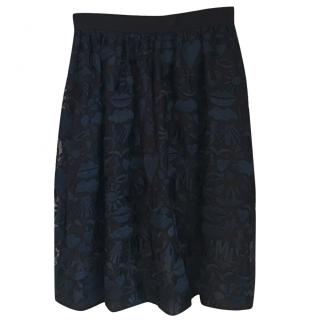 Markus Lupfer Navy and Black skirt