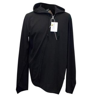 Comme de Garcons Men's Black Zip Up Hoodie