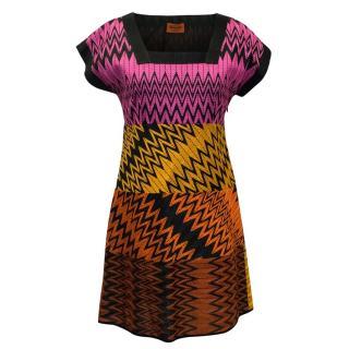 Missoni Multicolour Patterned Shift Dress
