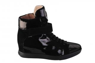 Miu Miu High Top Platform Micro Sequin Sneakers