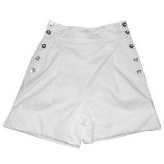 D&G White Shorts