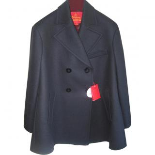 Vivienne Westwood Wool and Cashmere Peacoat Size 16 EU44