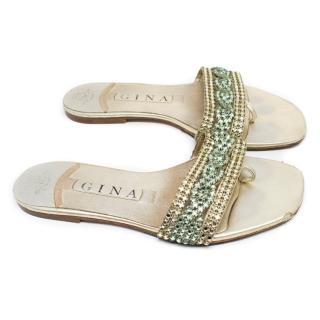 Gina Multicolour Crystal Embellished Sandals