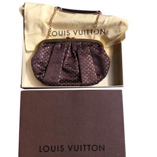Louis Vuitton Limited Edition Satin Monogram Clutch